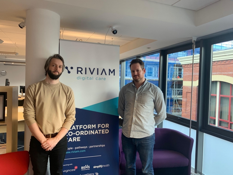 RIVIAM developers celebrate their one year work anniversary